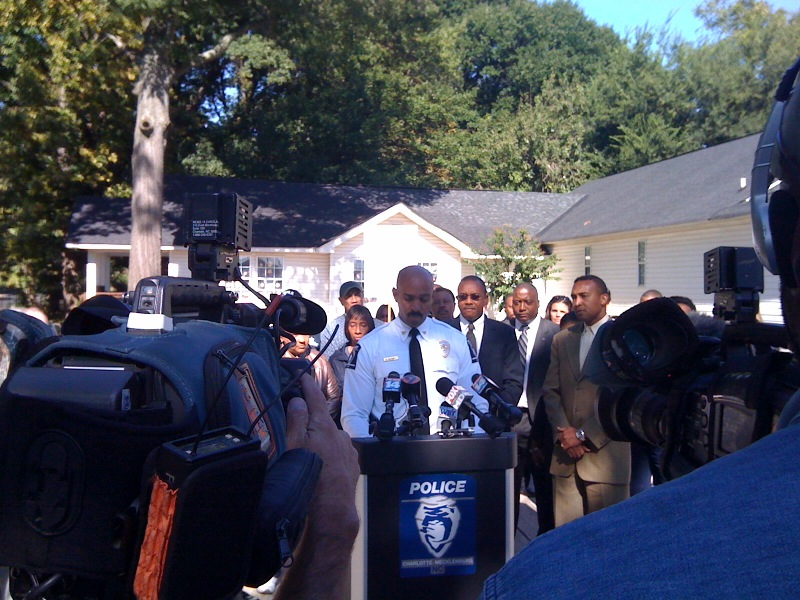 "CMPD says data in study is ""flawed"", photo: @ChrisMillerWBT"
