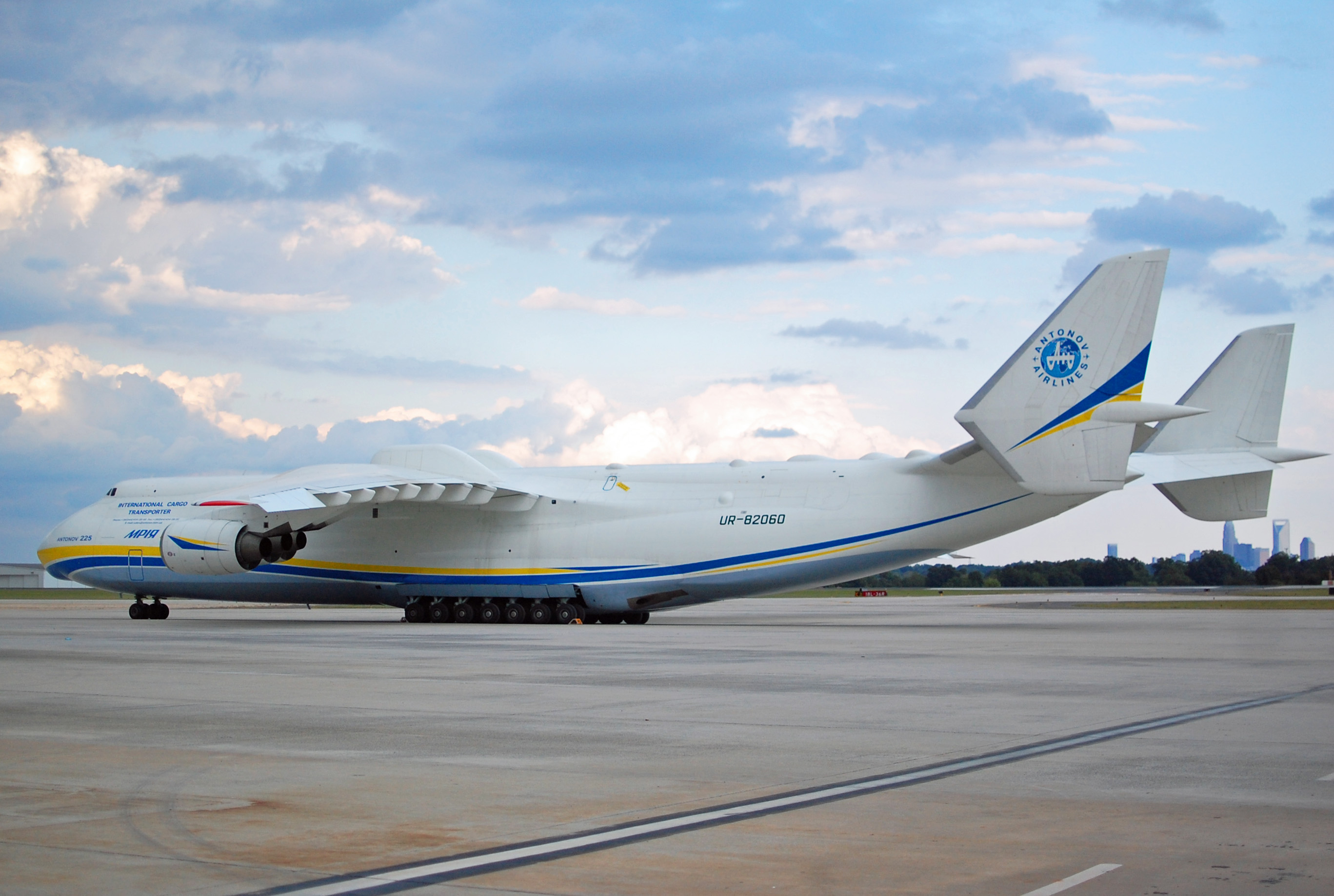 Antonov An-225, the world's largest airplane