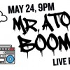 Mr. Atomic Boombox Live at Dharma Lounge-Banner